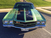 1970 Chevrolet Chevelle SS #'S MATCHING 396 FAC AC POP