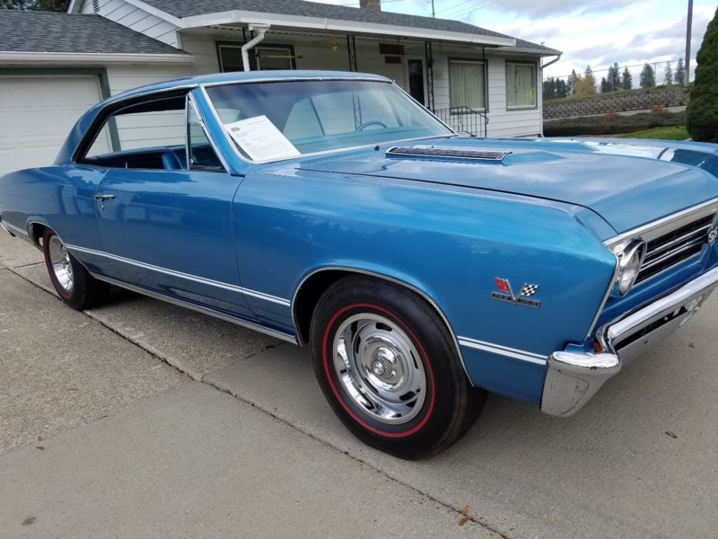 1967 Chevrolet Chevelle SS 396 Grand Junction Cars for