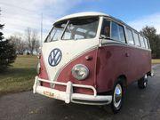 1961 Volkswagen BusVanagon deluxe 23 window